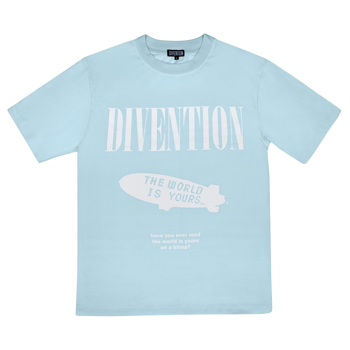 BLUE BLIMP T-SHIRT