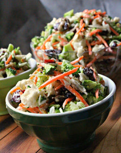 Vegetarian: Broccoli Crunch Salad