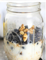 Blueberry Muffin Oats