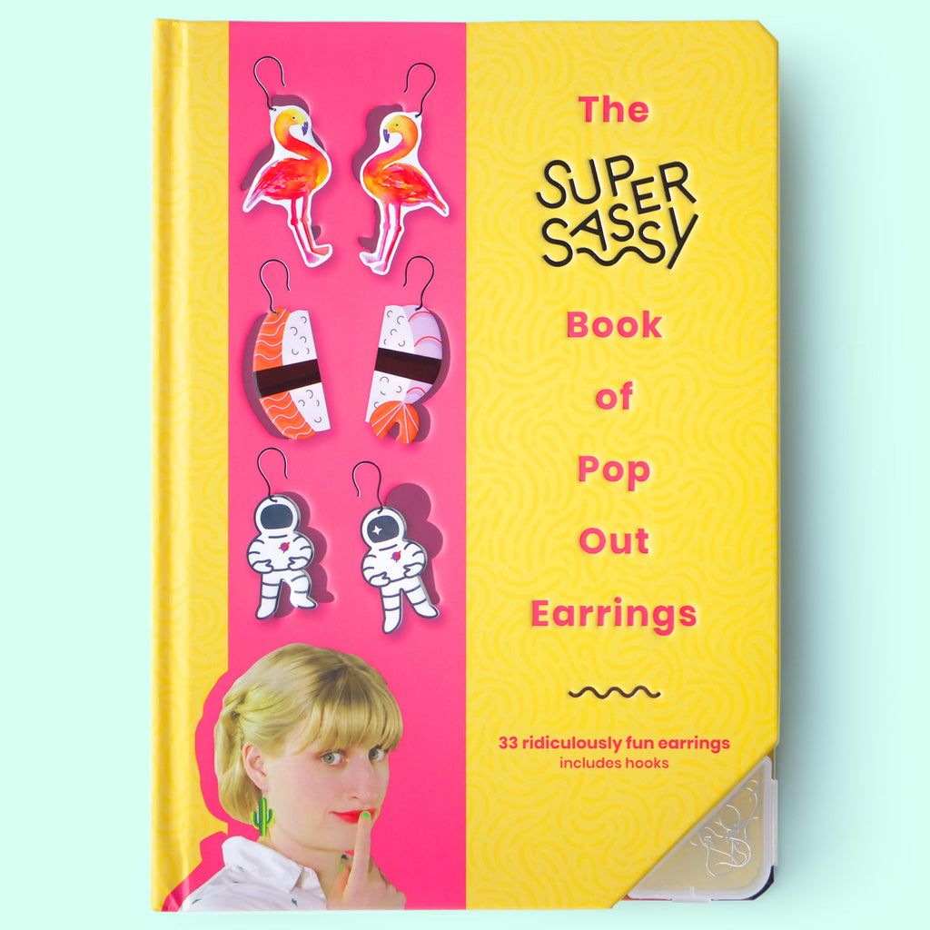 The Book of Pop Out Earrings