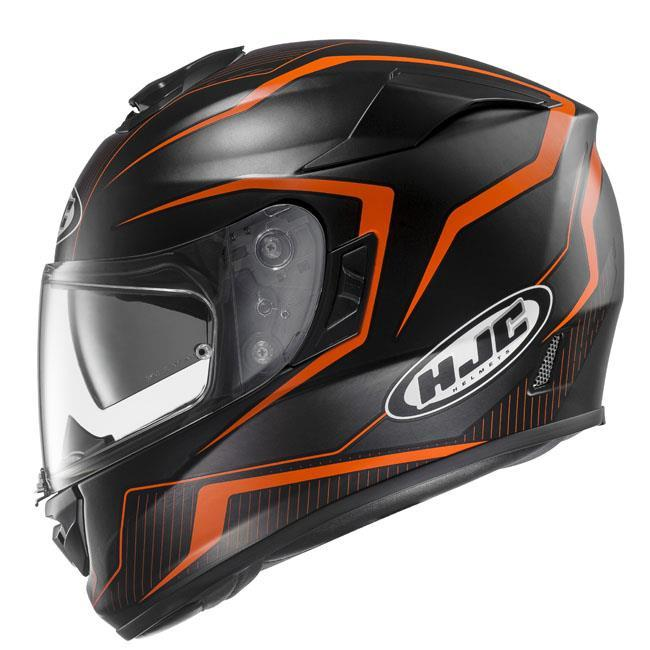 rpha-st-helmet Black/Orange - SunstateMC