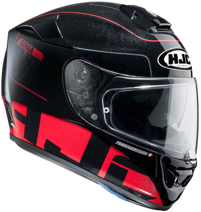 rpha-st-helmet Black/Red - SunstateMC
