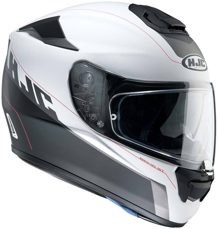 rpha-st-helmet Matt Black/White - SunstateMC