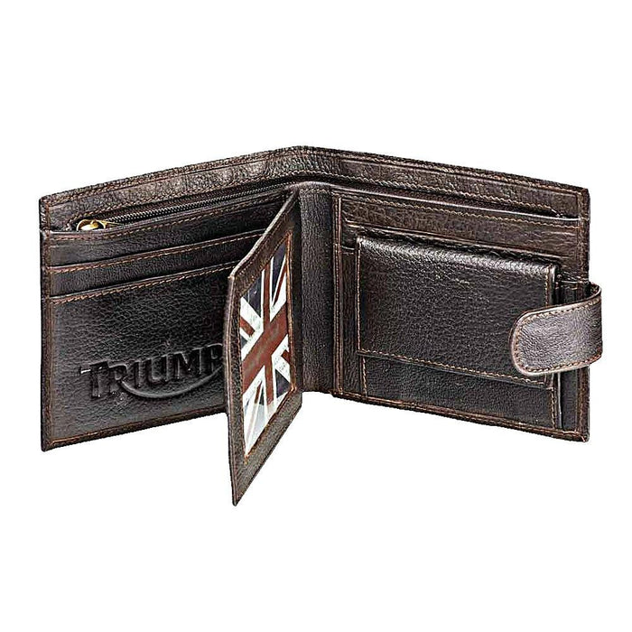 TRIUMPH LEATHER WALLET - SunstateMC