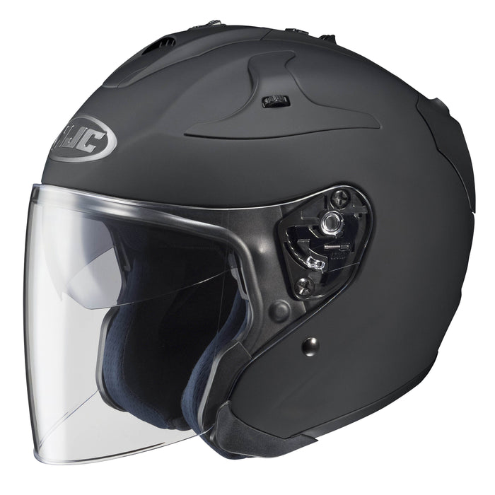 fg-jet-helmet Matt Black - SunstateMC