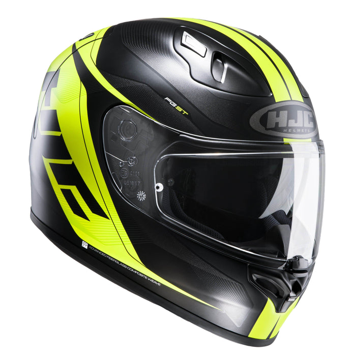 fg-st-helmet Black/Grey/Green - SunstateMC