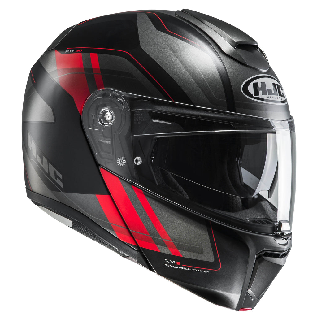 rpha-90-helmet Black/Grey/Red - SunstateMC