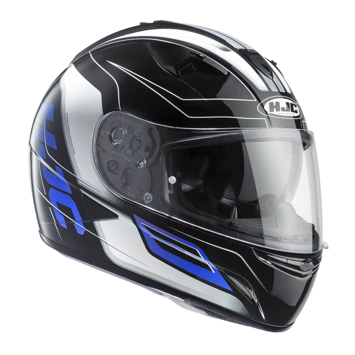 tr-1-helmet Black/Blue/White - SunstateMC