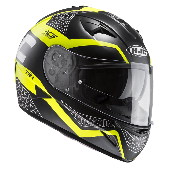 tr-1-helmet Grey/Yellow - SunstateMC