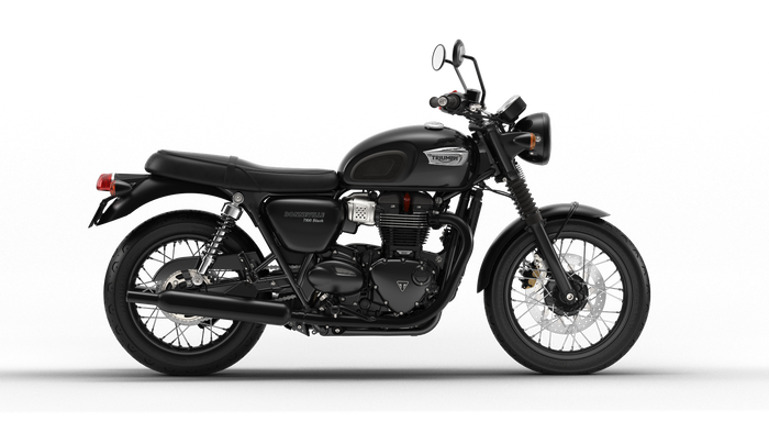 Bonneville T100 Black - SunstateMC