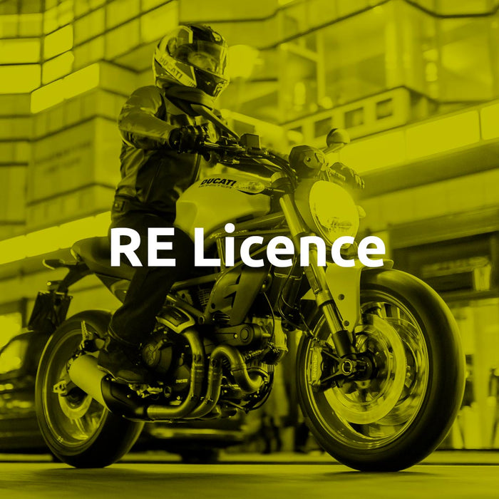 Q-Ride RE Licence Course