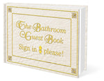 The Original Bathroom Guest Book