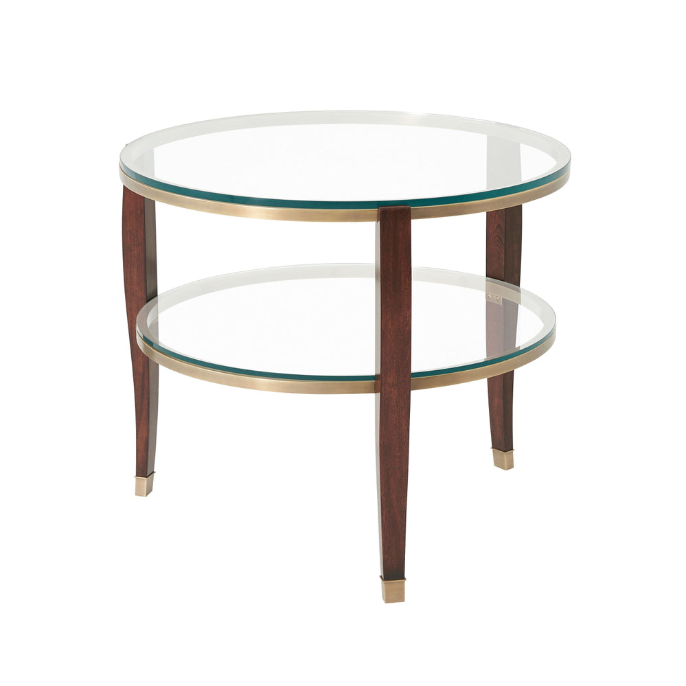 Seeing Double Side Table