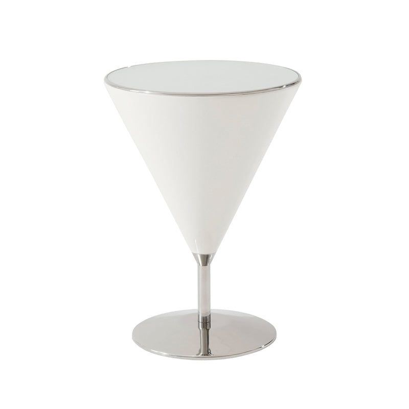 Quartz Mixology Accent Table