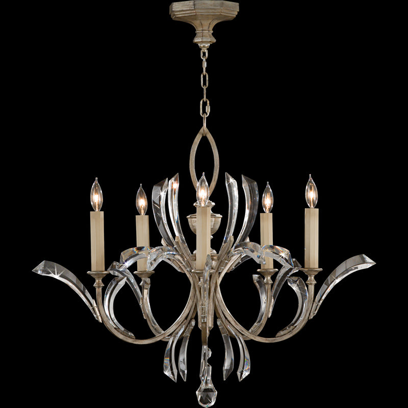 Fine Art Lamps | Bevelled Arcs Chandelier | Laura Kincade Furniture | Sydney Australia