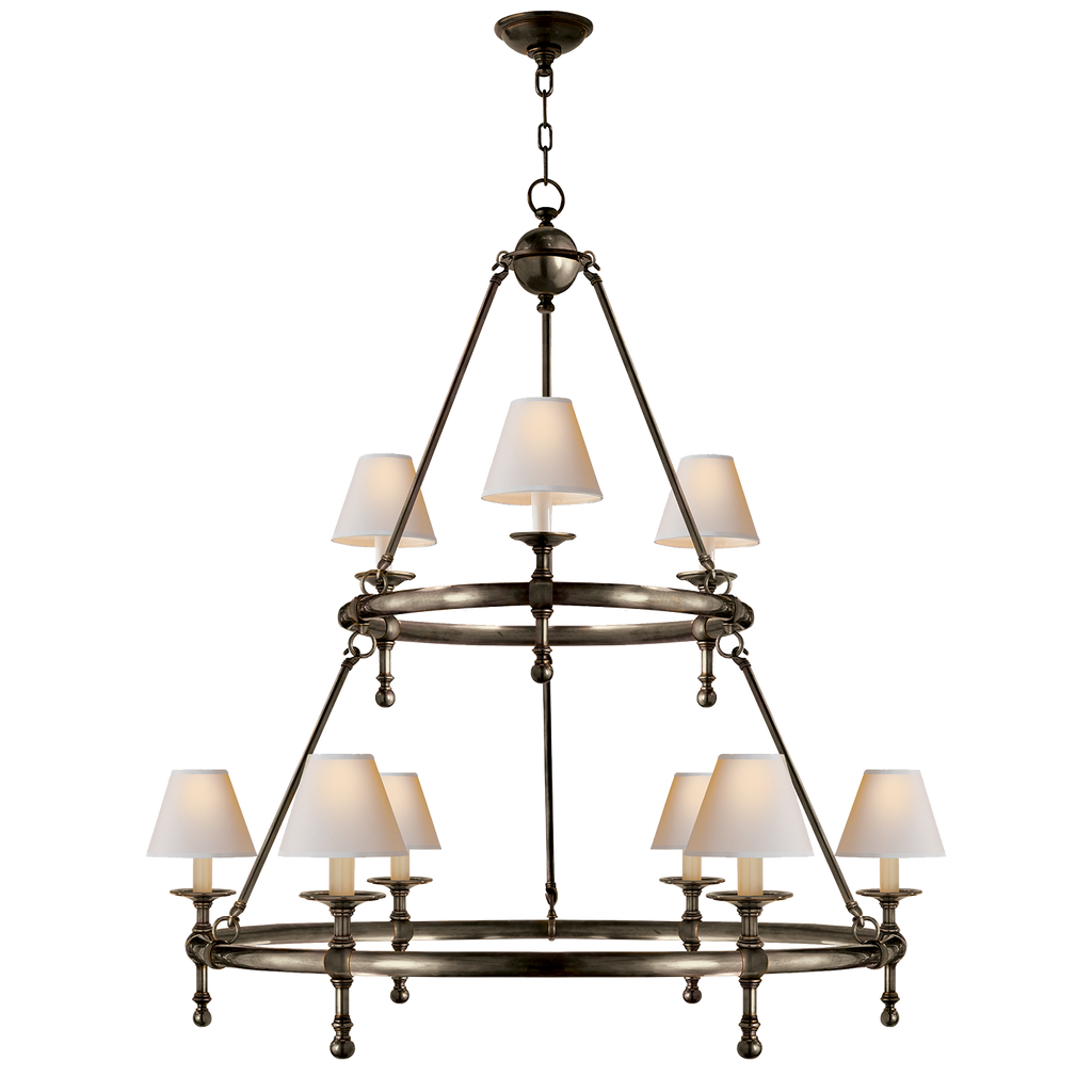 Visual Comfort & Co. | Classic Two-Tier Ring Chandelier | Laura Kincade Furniture | Sydney Australia