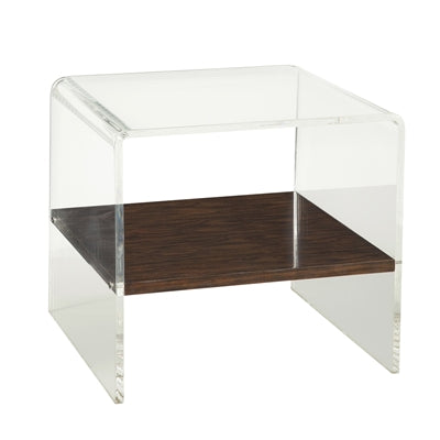 Maitland-Smith | Clear Acrylic Side Table | Laura Kincade Furniture | Sydney Australia