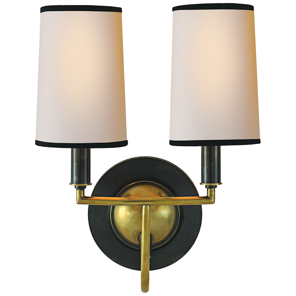 Visual Comfort & Co. | Elkins Double Sconce | Laura Kincade Furniture | Sydney Australia