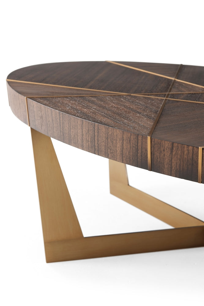 Calais Oval Cocktail Table