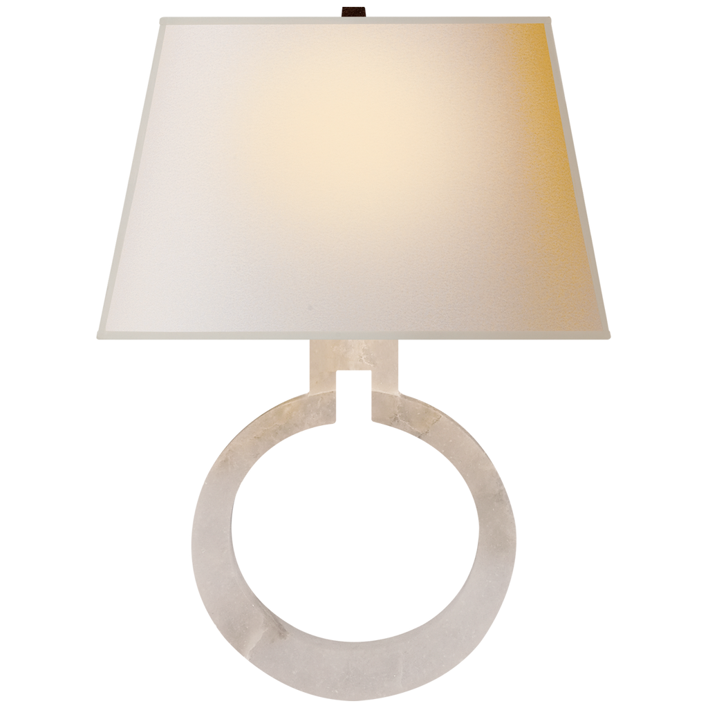 Ring Form Large Wall Sconce