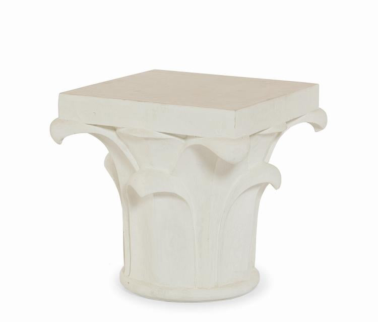 Corinthian Column Side Table