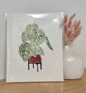 Anthurium Clarinervium print - Home by Faith