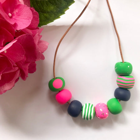 Handmade Bead Necklaces 002