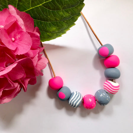 Handmade Bead Necklaces 005