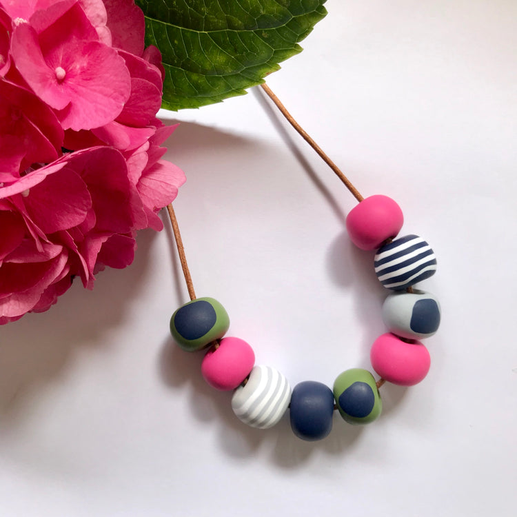 Handmade Bead Necklaces 007