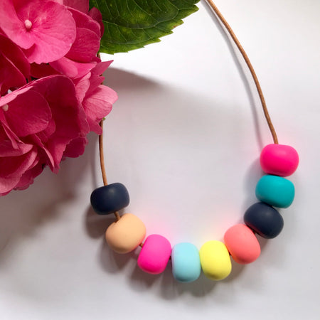 Handmade Bead Necklaces 008