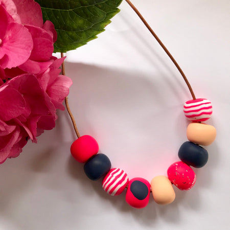 Handmade Bead Necklaces 009