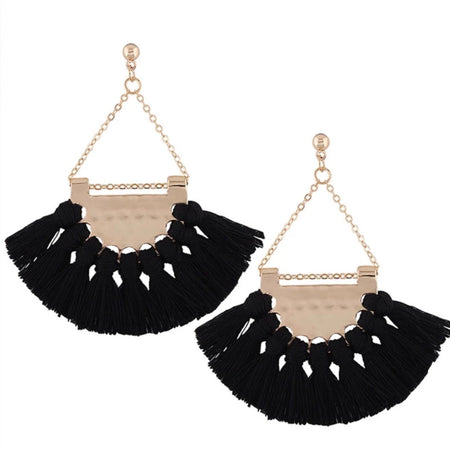 Tassel Earrings I 014
