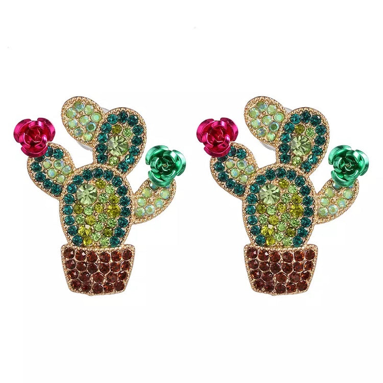 Medium Bling Earring 065