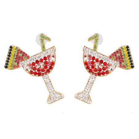 Large Bling Earring 001