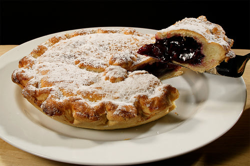 Apple & Blackcurrant Pie