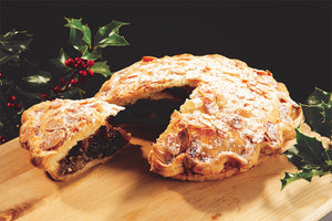 Christmas Apple & Mincemeat Pie