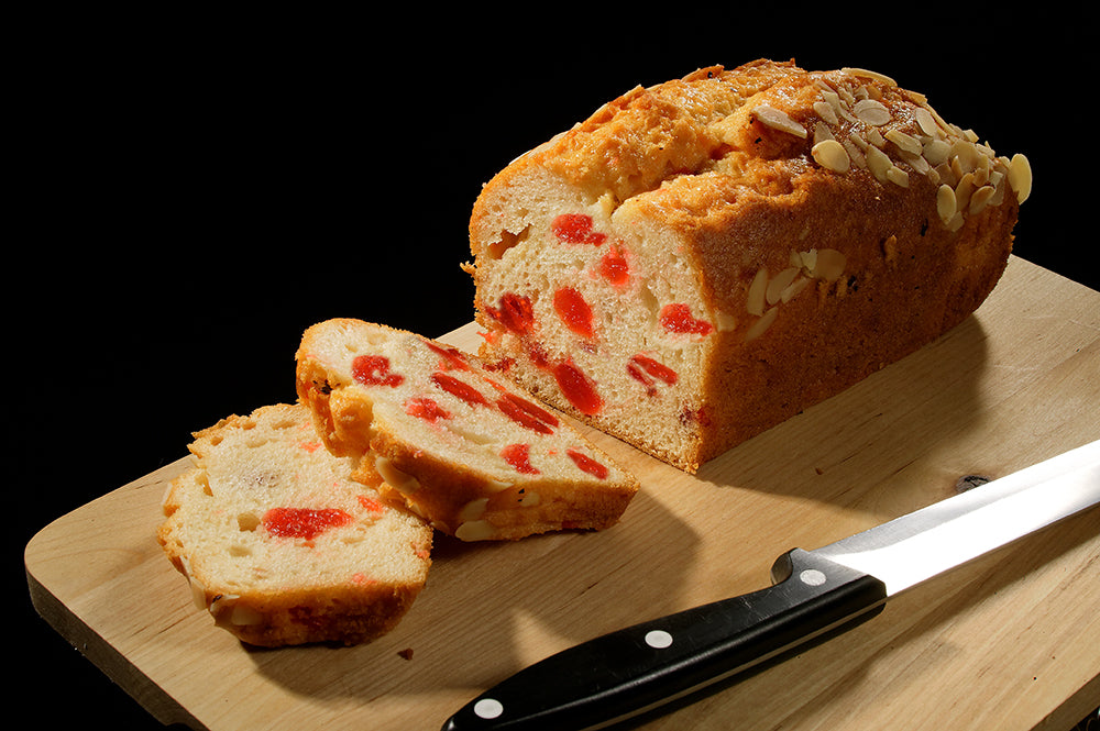 Large Cherry & Almond Cake Loaf (8 inch)