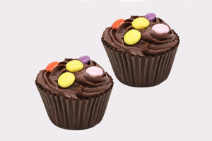 2 Chocolate Cup Cakes - Enjoy