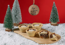 Load image into Gallery viewer, Christmas Luxury Mince Pies x 4