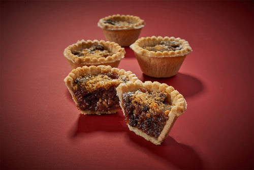 Christmas Port & Cranberry mince pies x 4