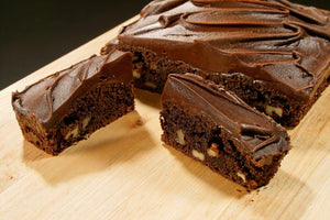 Chocolate Fudge Brownie Traybake (GASTRO) 12
