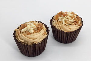 2 Salted Caramel Cup Cakes