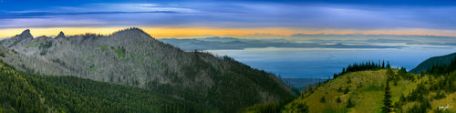 Panoramic Hurricane Ridge
