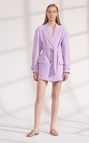 Dion Lee cady cocoon coat dress