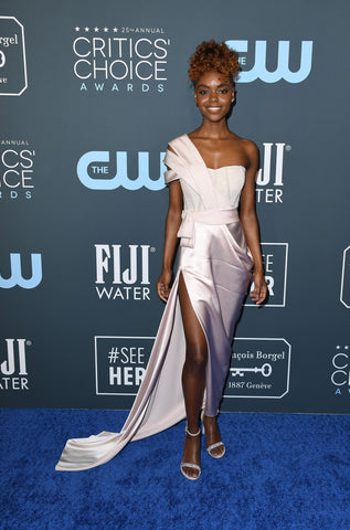Ashleigh Murray in custom DKNY