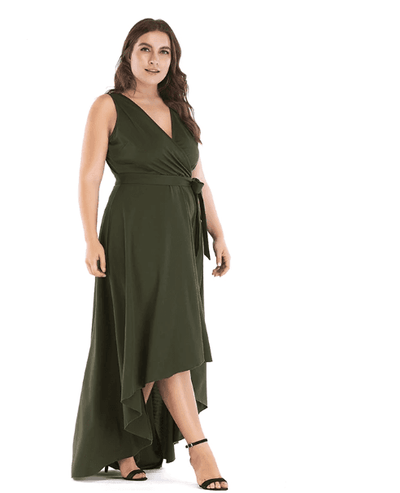 robe grande taille longue
