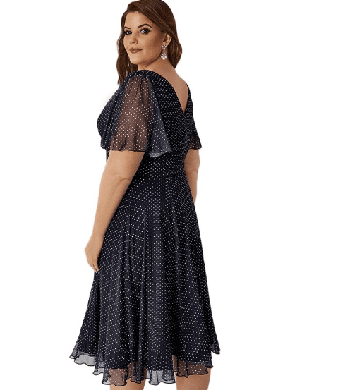 Robe grande taille femme ronde