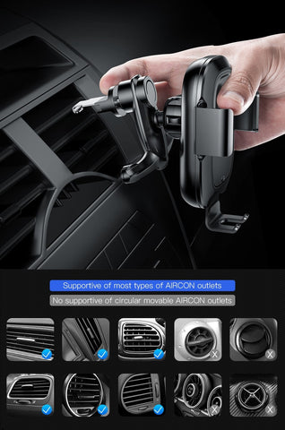 Intelligent Sensor Car Phone Holder for iPhone XS XR Fast QI Wireless Charger Air Vent Mount Mobile Phone Holder Stand