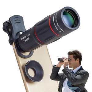 Mobile Phone Lens with Tripod 18 X Telescope Zoom Camera Lens