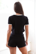 Load image into Gallery viewer, Black Loungewear | Comfortable loungewear